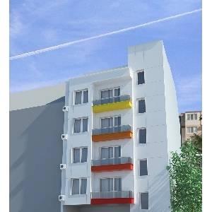 Морена, Цветен квартал Жилищна сграда Варна