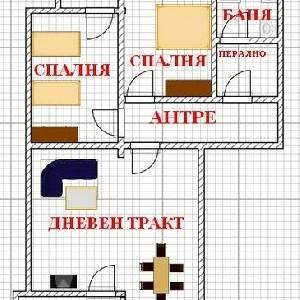 Продава 3-стаен апартамент,Цветен квартал
