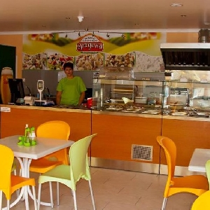 Verkauft fast-Food-Restaurant,…